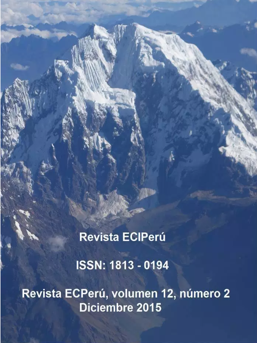 Ver Vol. 12 Núm. 2 (2015)