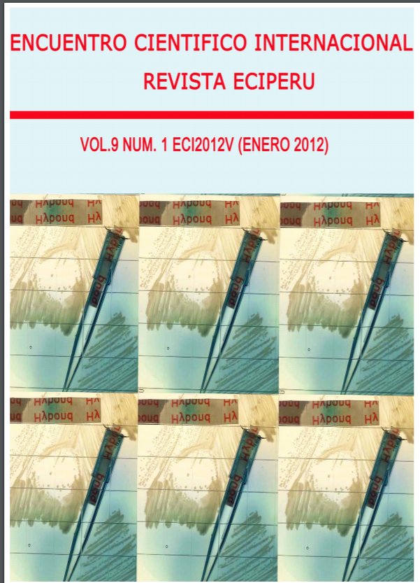 Ver Vol. 9 Núm. 1 (2012)