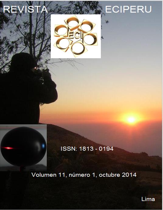 Ver Vol. 11 Núm. 1 (2014)