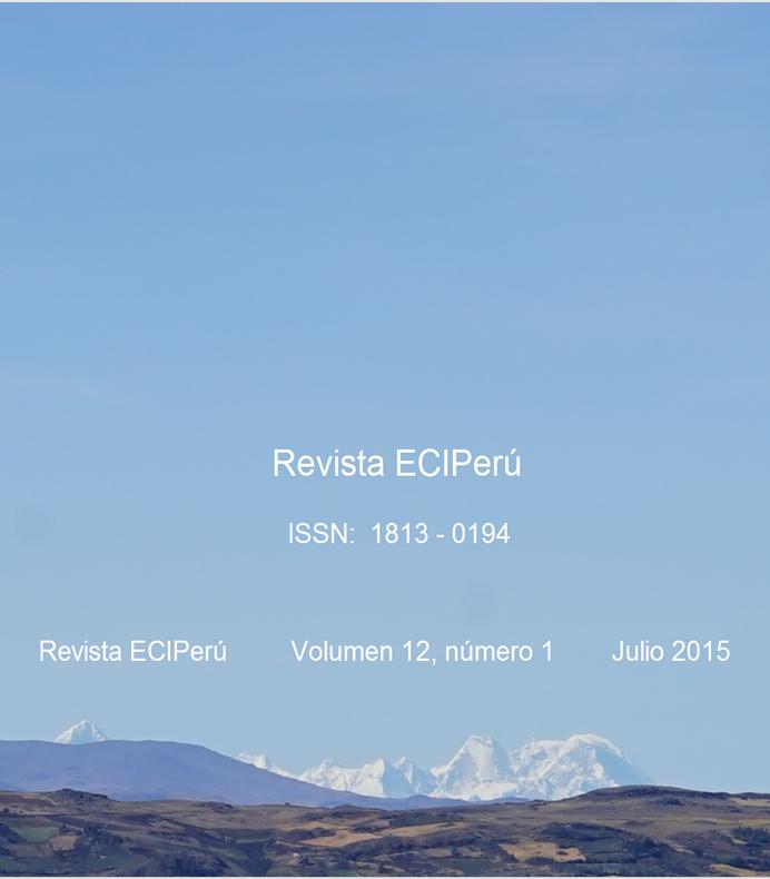 Ver Vol. 12 Núm. 1 (2015)